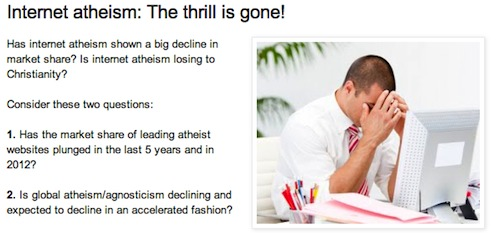 internet atheism the thrill is gone